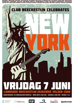 Club Beeckestijn New York Poster 2013