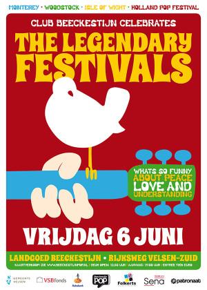 Club Beeckestijn Poster The Legendary Festivals 2014