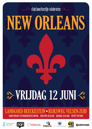 Club Beeckestijn Poster New Orleans 2015